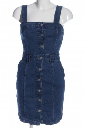 Mango Jeansowa sukienka niebieski W stylu casual