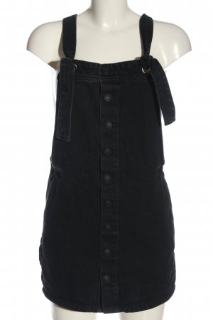 Mango Denim Dress black casual look