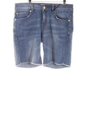 Mango Jeansshorts blau Casual-Look