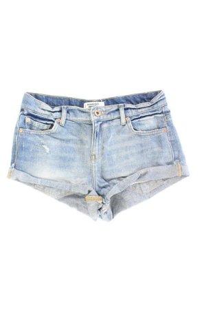 Mango Shorts blue-neon blue-dark blue-azure cotton