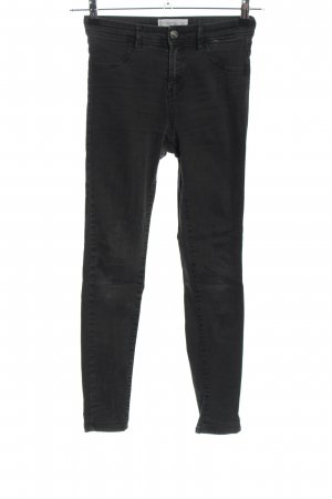 Mango Jeggings schwarz meliert Casual-Look