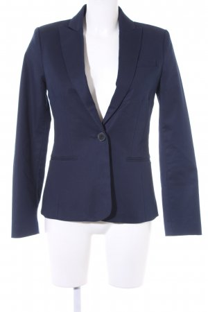 Mango Jerseyblazer dunkelblau Business-Look