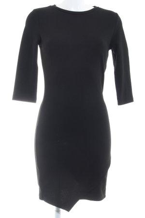 Mango Jerseykleid schwarz Casual-Look
