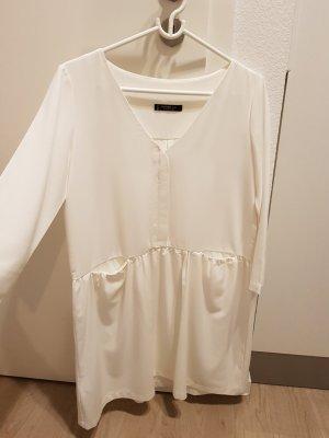 Mango Mini vestido blanco