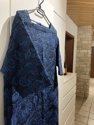 Mango Mini Dress cornflower blue-dark blue
