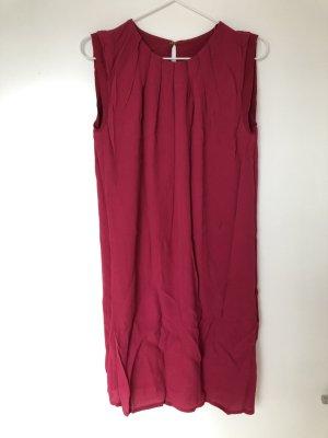 Mango Suit Sheath Dress raspberry-red