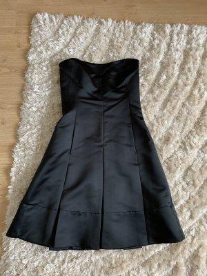 Mango Corsage Dress black