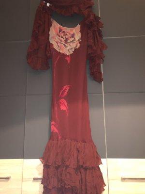 Mango Kleid Carmen mit Stola Gr.M