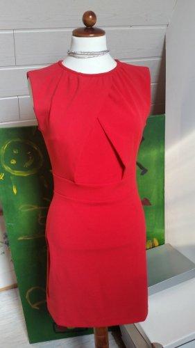 Mango Kleid Etuikleid Gr. S 36 Rot