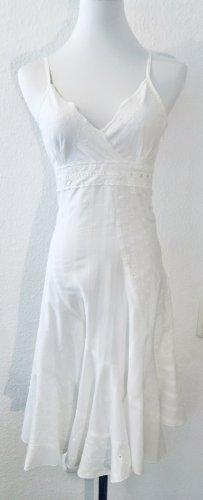 Mango Sukienka midi biały