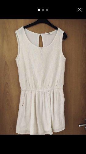 Mango Mini vestido blanco puro