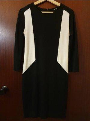 Mango Kleid | Größe M | Schwarz, Weiß
