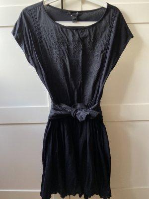 MANGO Kleid in Schwarz