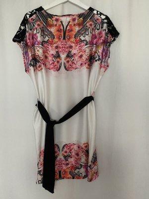 Mango Kleid mit bunten Blüten in M
