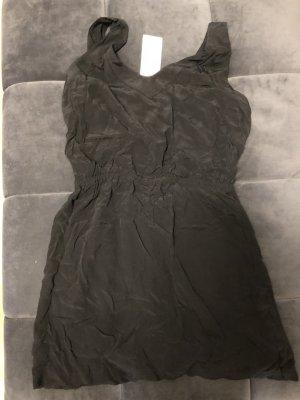 Mango Vestido cut out negro