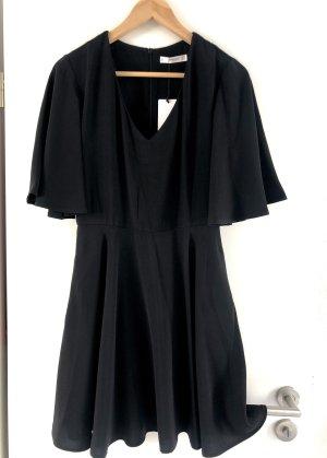 Mango Kleines Schwarzes Kleid Business Kleidchen luftig