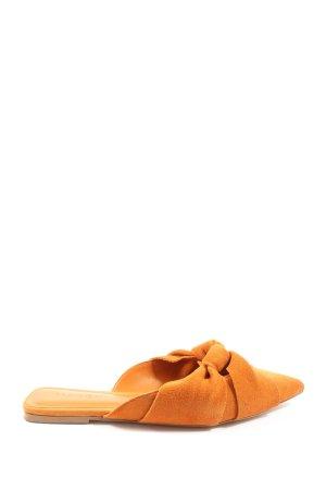 Mango Komfort-Sandalen hellorange Casual-Look
