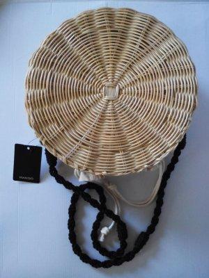 Mango Korbtasche aus Bambus, neu