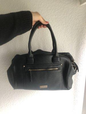 MANGO Kunstleder Handtasche