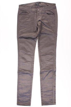 Mango Faux Leather Trousers multicolored cotton