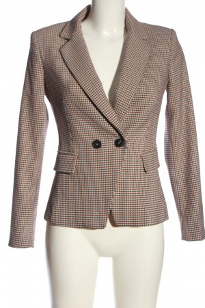 Mango Kurz-Blazer Allover-Druck Business-Look
