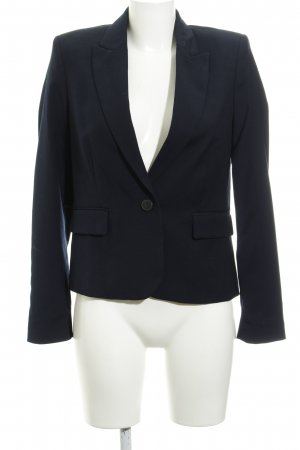 Mango Kurz-Blazer dunkelblau Business-Look