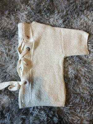 Mango Knitted Jumper white