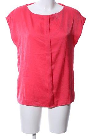 Mango Kurzarm-Bluse rot Casual-Look