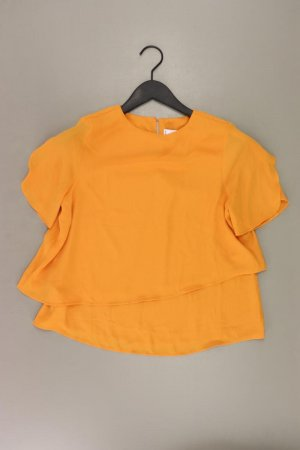 Mango Kurzarmbluse Größe XS neuwertig orange aus Polyester