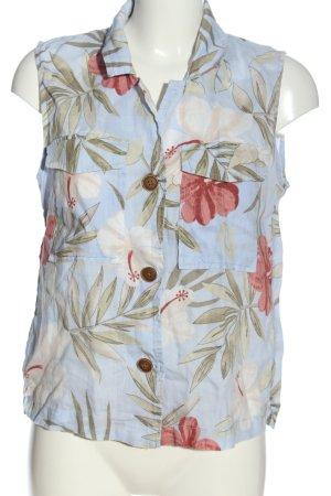 Mango Shirt met korte mouwen bloemenprint casual uitstraling