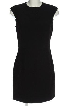 Mango Kurzarmkleid schwarz Elegant