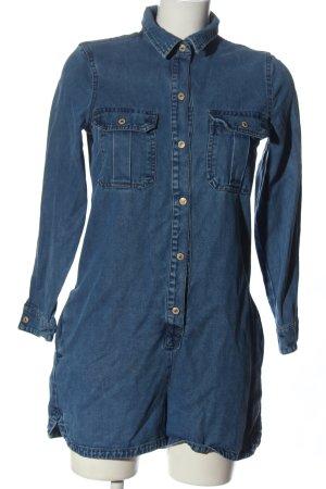Mango Kurzer Jumpsuit blue casual look