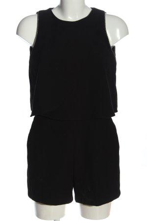 Mango Kurzer Jumpsuit black casual look