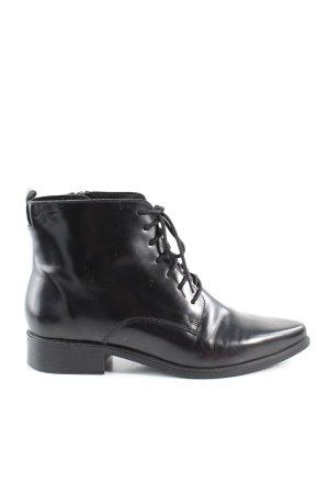 Mango Korte laarzen zwart zakelijke stijl