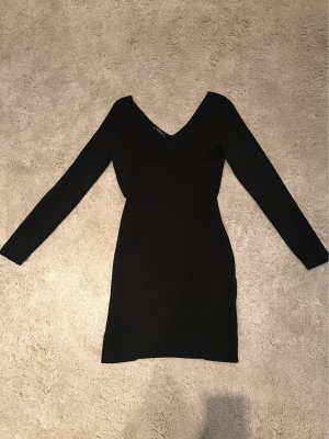 Mango Vestido ceñido de tubo negro