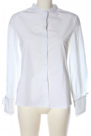 Mango Langarmhemd weiß Elegant