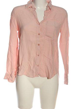 Mango Langarmhemd pink Casual-Look