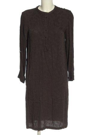 Mango Sukienka z długim rękawem brązowy W stylu casual