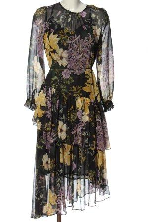 Mango Longsleeve Dress allover print elegant