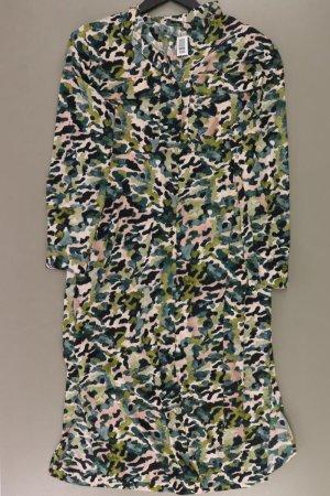 Mango Langarmkleid Größe S mit Tierdruck neuwertig mehrfarbig aus Polyester