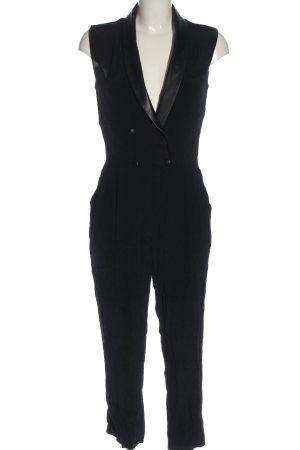 Mango Langer Jumpsuit black elegant