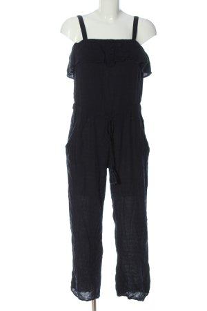 Mango Langer Jumpsuit schwarz Casual-Look