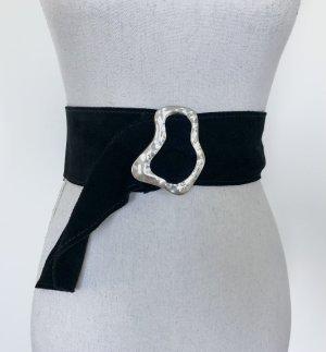 Mango Cinturón pélvico negro