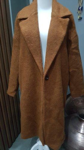 Mango Winter Coat brown-cognac-coloured