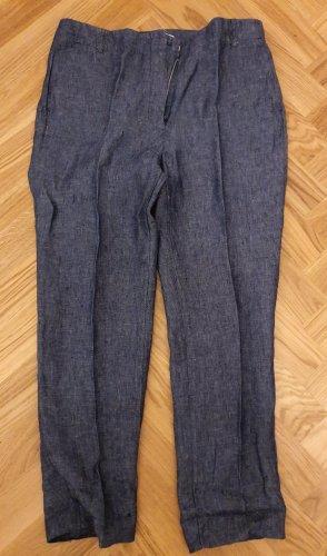 Mango Pantalon blauw
