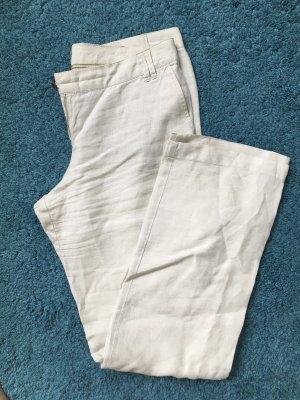 Mango Casual Sportswear Pantalón de lino multicolor