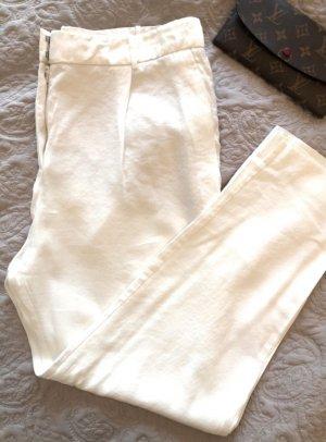 Mango Pantalone di lino bianco