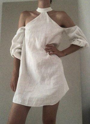 Mango Sukienka koktajlowa biały