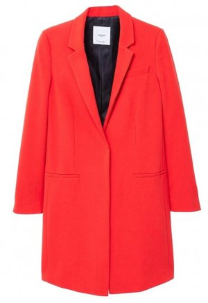 Mango Long Blazer red