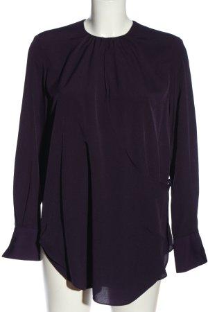 Mango Long-Bluse lila Casual-Look